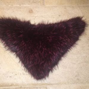 jocelyn Accessories - Jocelyn Fox Fur Bandana